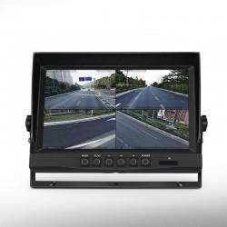 """Monitor Quadview para cámaras de maquinaria pesada 9"""" Limatics - 2"""