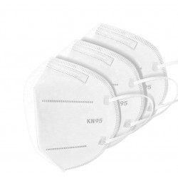 Certified respirator KN95 FFP2 Pack (50 units)