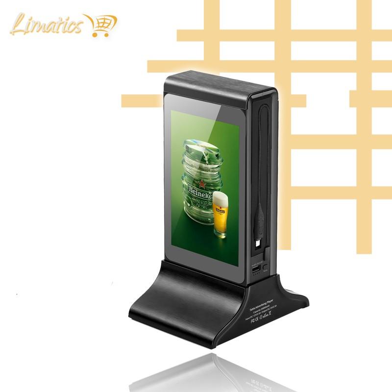Estación de carga publicitaria doble pantalla Coco Power - 4
