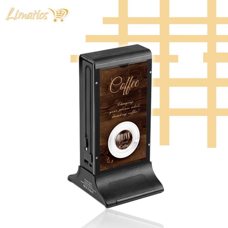 Estación de carga publicitaria una pantalla Coco Power - 1