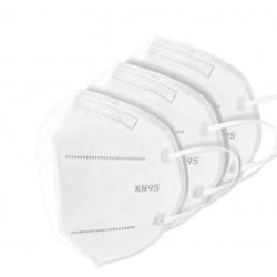 Mascarilla Facial con certificación KN95/FFP2 (10 unidades)