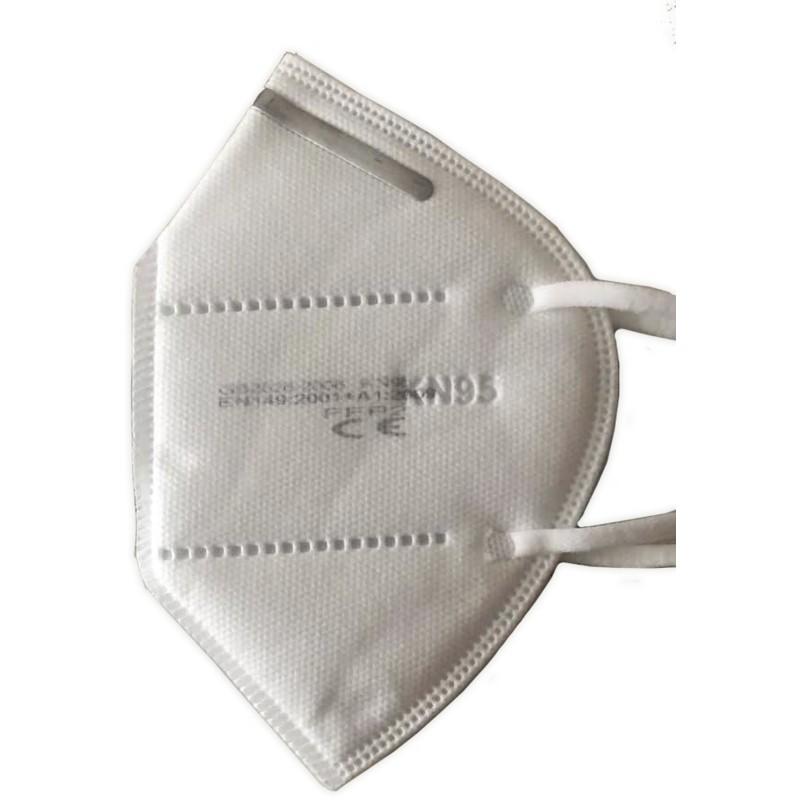 Pack 5 unidades Mascarilla Facial con certificación KN95/FFP2 (5 unidades) Dutens - 1