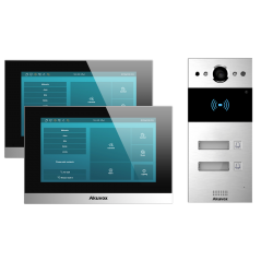 Kit R20Bx2 con 2 botones + Pantallas y Switch POE