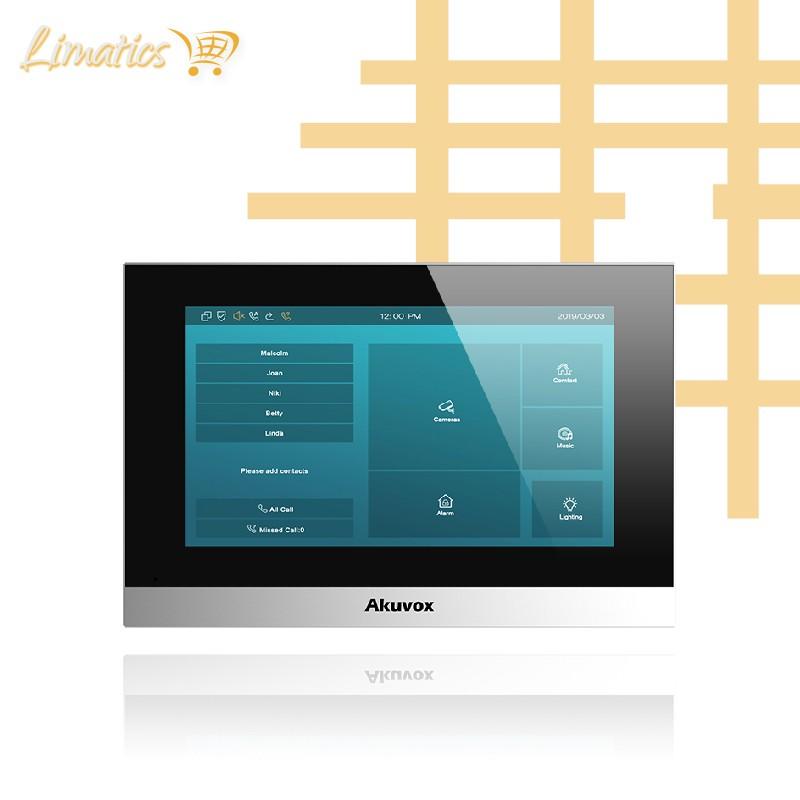 Modelo C313W: Pantalla Táctil Manos Libres WIFI para Videoportero Akuvox - 1