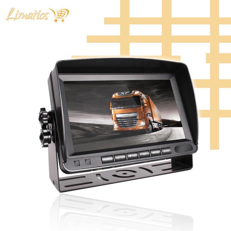 """Monitor para cámaras de maquinaria pesada 7"""" Limatics - 4"""