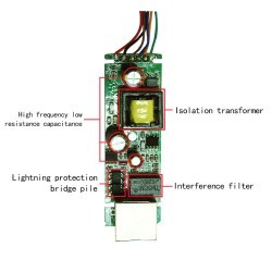 Modelo 4812G - Divisor Splitter Poe de energía y datos DJA - 4